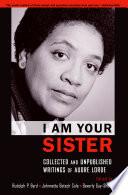 I Am Your Sister Book