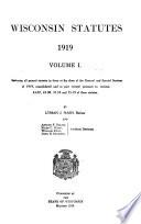 Wisconsin Statutes 1919