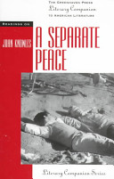 Pdf Readings on A Separate Peace