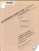 Government Competition