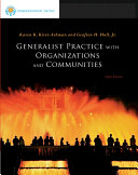 Brooks Cole Empowerment Series  Generalist Practice with Organizations and Communities