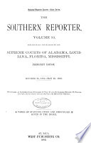 Southern Reporter Book PDF