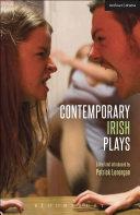 Contemporary Irish Plays