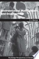 Environmental Management and Development