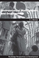 Pdf Environmental Management and Development Telecharger