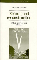 Reform and Reconstruction