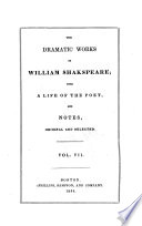 Dramatic Works ...: King Lear. Romeo and Juliet. Hamlet. Othello