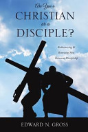 Are You a Christian Or a Disciple  Book