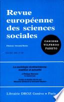 La sociologie durkheimienne