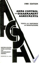 Arms Control and Disarmament Agreements