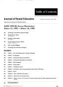 Journal of Dental Education