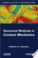 Numerical Methods in Contact Mechanics