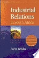 Industrial Relations in South Africa