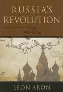 Russia s Revolution Book