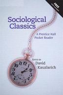 Sociological Classics