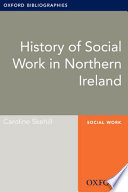 History Of Social Work In Northern Ireland Oxford Bibliographies Online Research Guide