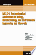 MES 24  Electrochemical Applications to Biology  Nanotechnology  and Environmental Engineering and Materials Book