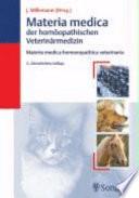 Materia medica der homöopathischen Veterinärmedizin