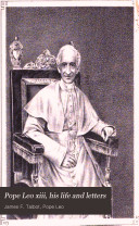 Pope Leo Xiii  His Life and Letters
