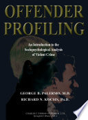 Offender Profiling Pdf/ePub eBook