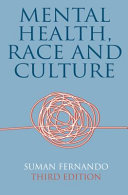 Mental Health  Race and Culture Book