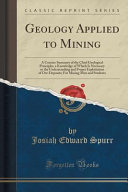 Geology Applied to Mining