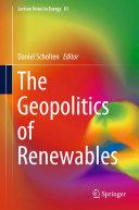The Geopolitics of Renewables