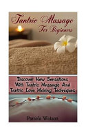 Tantric Massage for Beginners Book