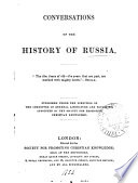 Conversations on the History of Russia
