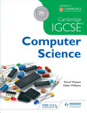 Books - Cambridge IGCSE Computer Science | ISBN 9781471809309