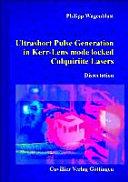 Pdf Ultrashort Pulse Generation in Kerr-lens Mode Locked Colquiriite Lasers