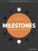 Milestones Volume 4 Creation People Volume 4