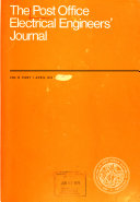 The Post Office Electrical Engineers  Journal Book