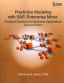 Cover of Predictive Modeling with SAS Enterprise Miner