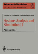 Systems Analysis And Simulation Ii Book PDF