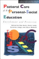 Pastoral Care And Personal Social Ed