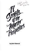 17 Secrets of the Master Prospectors