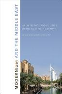 Pdf Modernism and the Middle East