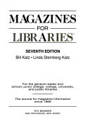 Magazines for Libraries