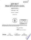 Hourly Precipitation Data Book