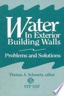 Water in Exterior Building Walls Book