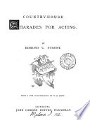 Country house Charades for Acting Book