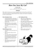Pdf Eric Carle Literature Activities--Have You Seen My Cat?