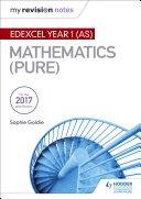 My Revision Notes  Edexcel Year 1  AS  Maths  Pure