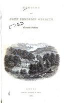 Memoir of John Frederic Oberlin, Pastor at Ban de la Roche