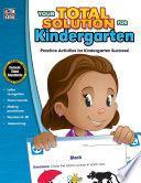 Your Total Solution for Kindergarten Workbook