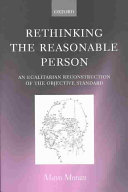 Rethinking the Reasonable Person