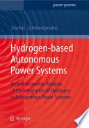Hydrogen based Autonomous Power Systems