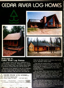 The Original Log Home Guide for Builders & Buyers