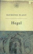 The Great Philosophers  Hegel